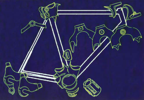 Framebuilding Bicycles Tubing Parts And Tools